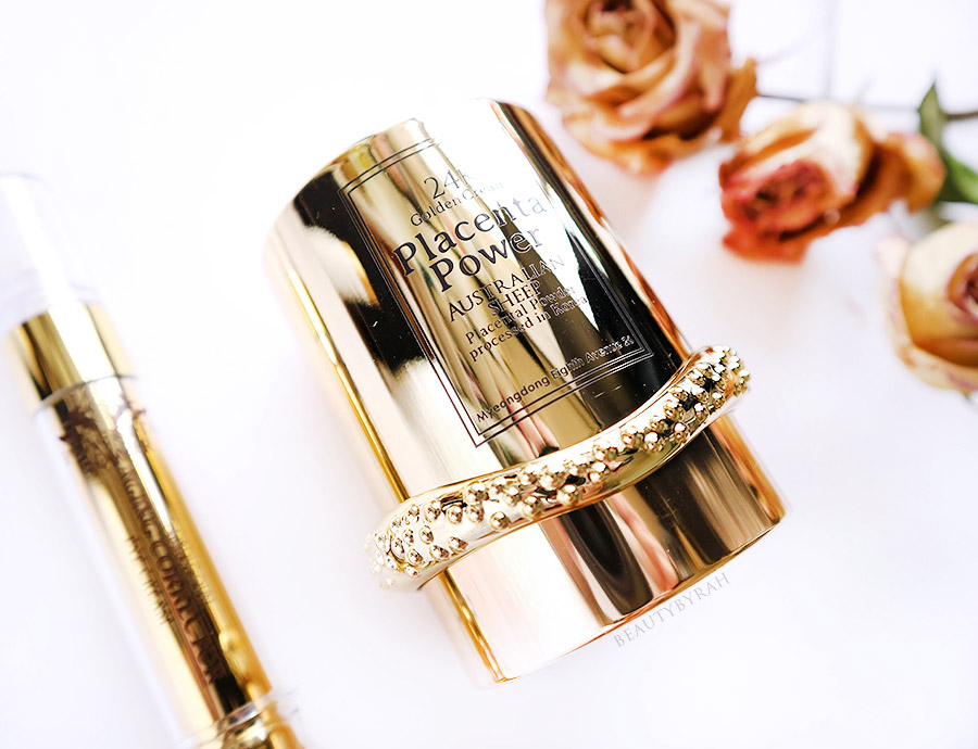 Gobdigoun Placenta Power 24K Golden Cream Skincare Review