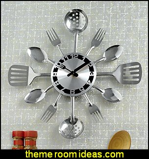 Utensils Wall Clocks  kitchen accessories - fun kitchen decor - decorative themed kitchen  - novelty mugs - kitchen wall decals - kitchen wall quotes - cool stuff to buy - kitchen cupboard contact paper -  kitchen storage ideas - unique kitchen gadgets - food pillows - kitchen accessories - fun kitchen decor - decorative themed kitchen  - novelty mugs - kitchen wall decals - kitchen wall quotes - cool stuff to buy - kitchen cupboard contact paper -  kitchen storage ideas - unique kitchen gadgets - food pillows