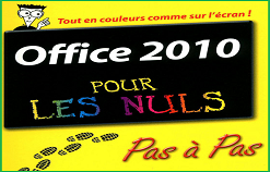 """Livre PDF """" Office 2010 pour les nuls """""""