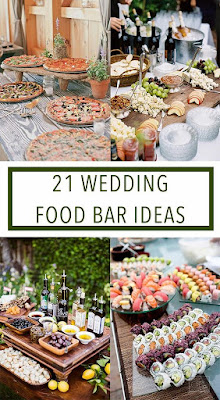Amazing Wedding Food Bar Ideas