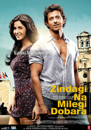 Zindagi Na Milegi Dobara 2011 BluRay 450MB Hindi 480p Watch Online Full Movie Download Worldfree4u 9xmovies