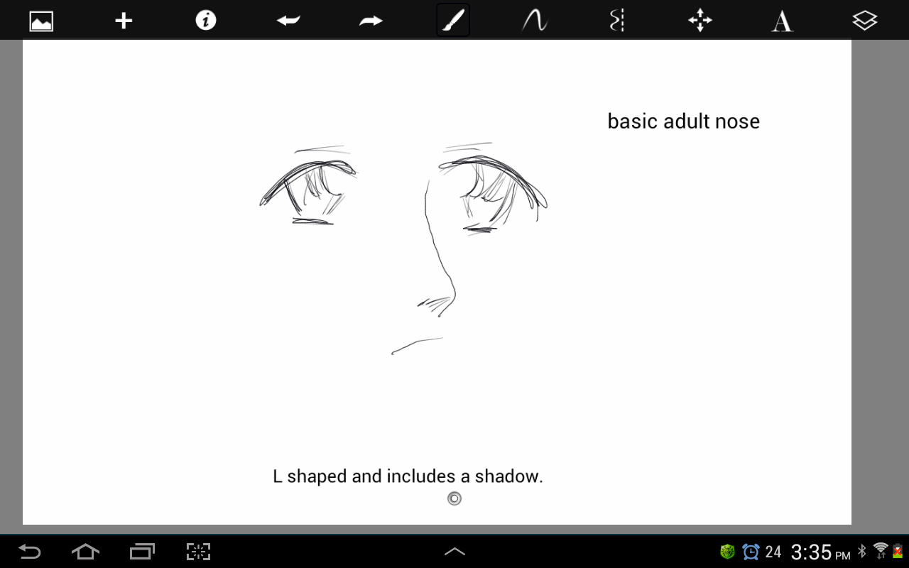 Learn To Draw Anime Drawing Anime Noses