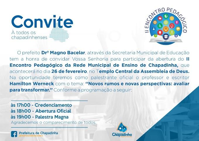 Semed Realiza Formação Pedagógica para Supervisores e Especialistas da Rede Municipal de Educação.