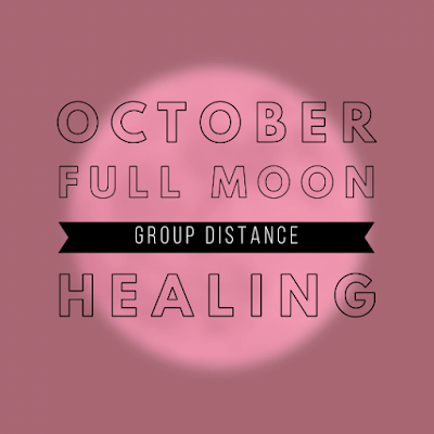 October Full Moon Group Healing