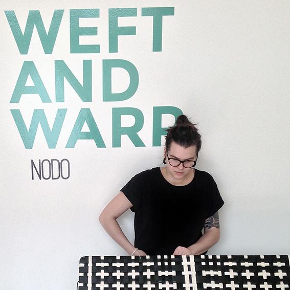 La designer Clara Arpini di NODO