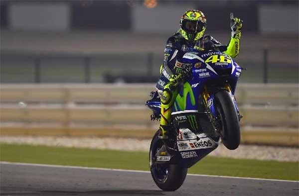 Valentino Rossi yang memetik hasil apik di kandangnya sendiri setelah berhasil untuk kedu Dikandangnya Mugello Rossi Tampil Apik