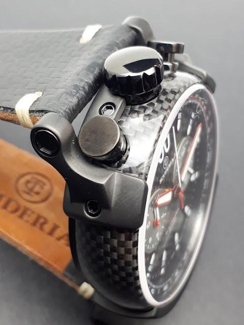 大阪 梅田 ハービスプラザ WATCH 腕時計 ウォッチ ベルト 直営 公式 CT SCUDERIA CTスクーデリア Cafe Racer カフェレーサー Triumph トライアンフ Norton ノートン フェラーリ FIBRA DI CARBONIO フィブラディカーボニオ CS10174