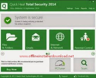 Quick heal total security offline installer Download