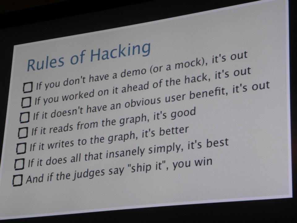 Facebook's Hackathon Culture