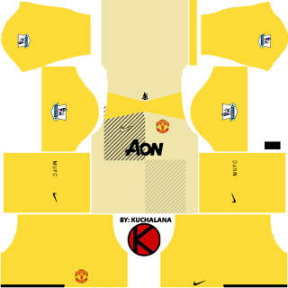Manchester United Kits 2013/2014 - Dream League Soccer