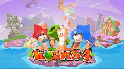 Worms 4 Apk + Data Full Download (paid)