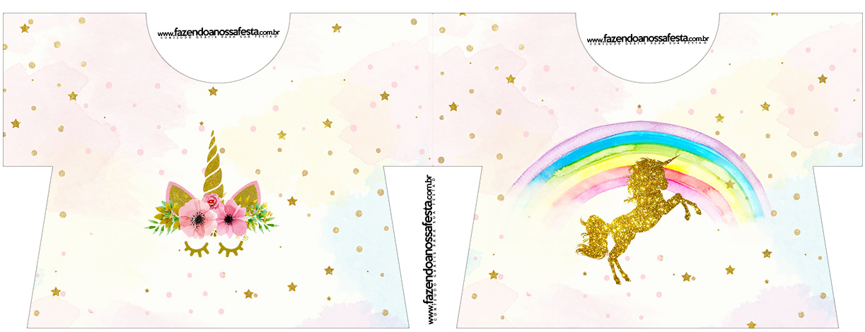 Fiesta De Unicornios Invitaciones Para Imprimir Gratis Ideas Y