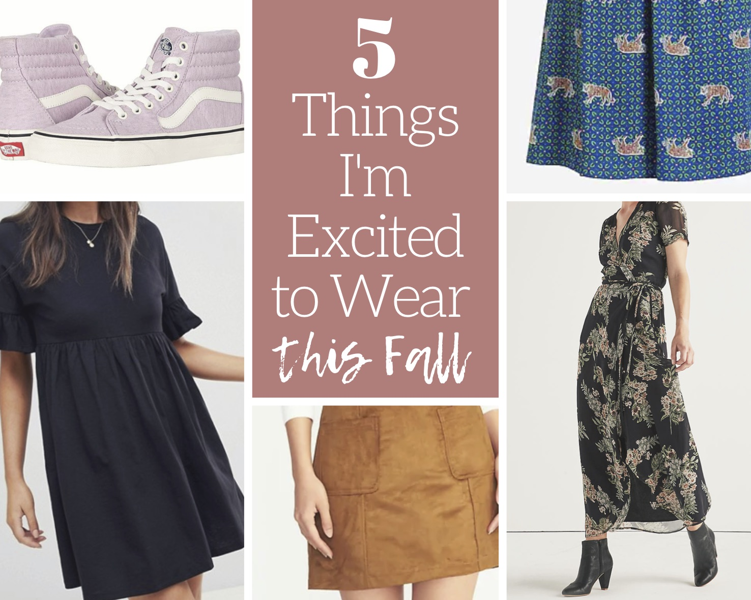 5 Cool Looks to Wear This Fall 5 Cool Looks to Wear This Fall new images