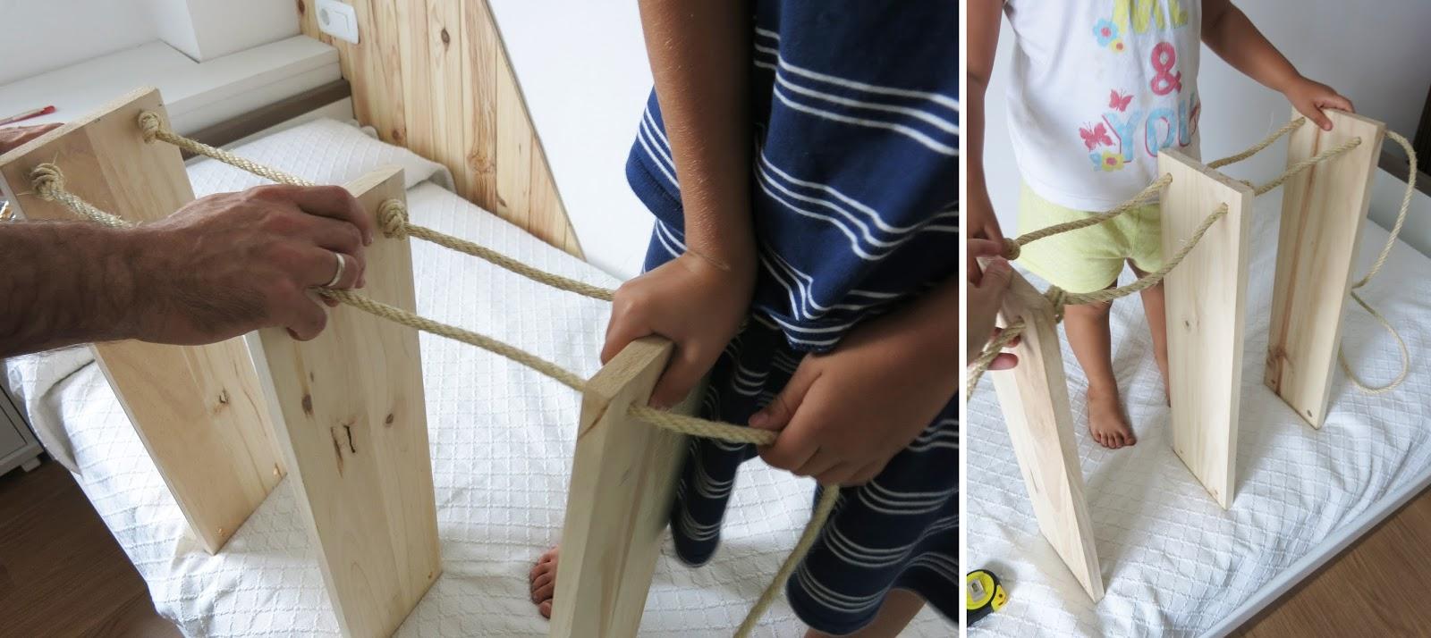 Decorar en familia_Diy baldas de cuerda y madera5