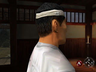 Fuku-san in the dojo