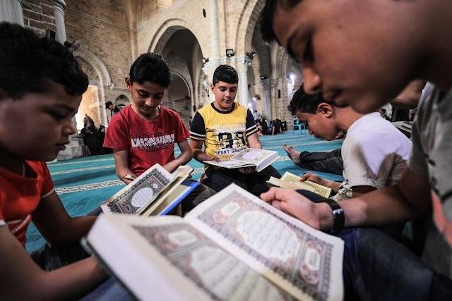 #صور ..أجواء #رمضان في #غزة ، في اليوم الاول من الشهر الفضيل