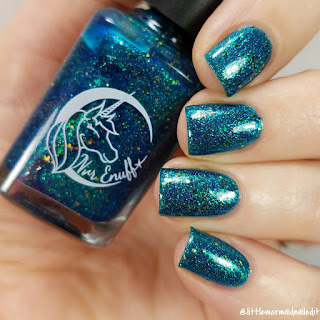 Nvr Enuff Polish In The Depths Collection A Song of the Sea Swatches and Review