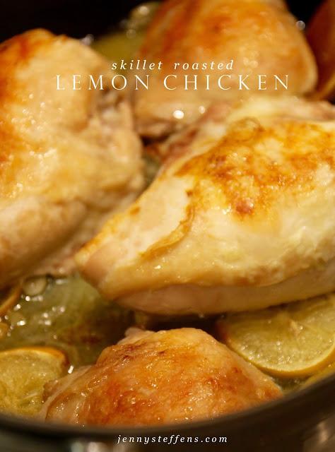Jenny Steffens Hobick Skillet Roasted Lemon Chicken Barefoot Contessa Cooking For Jeffery