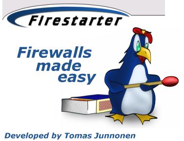 Firestarter personal firewall, la sicurezza su Linux.