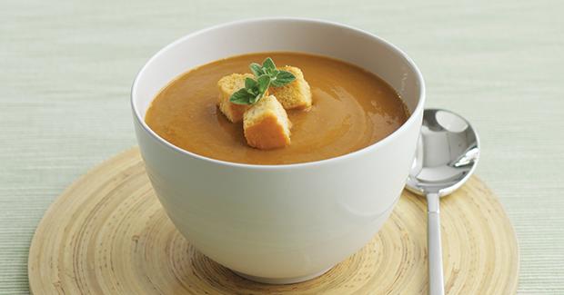 Σούπα με γλυκοπατάτα και καρότα