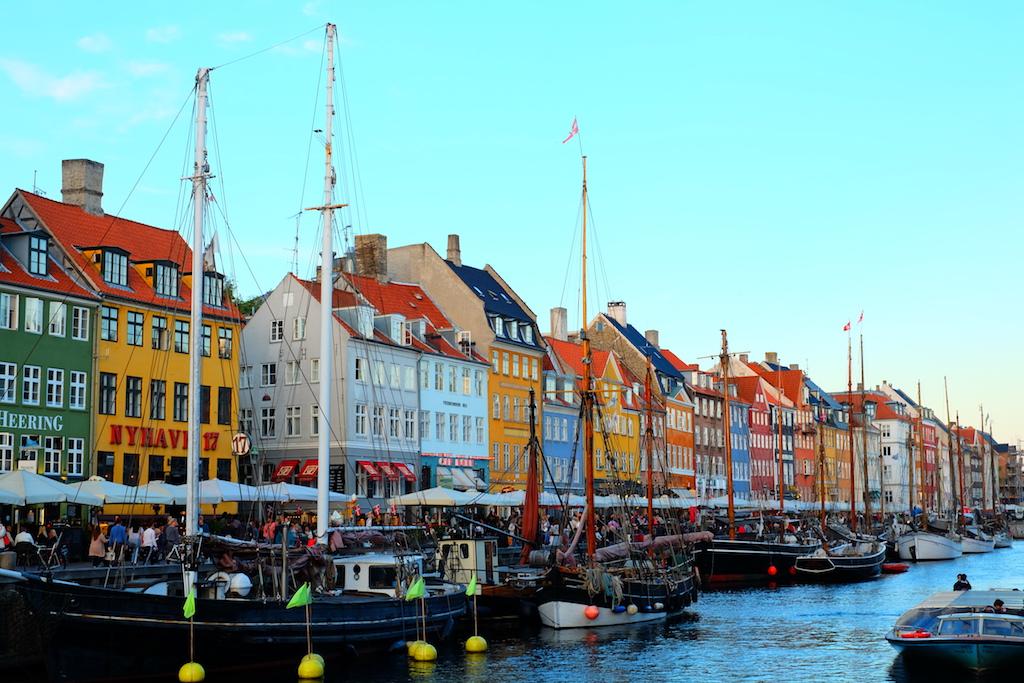 Journey to Desert and Arctic - Nyhavn, Copenhagen, Denmark