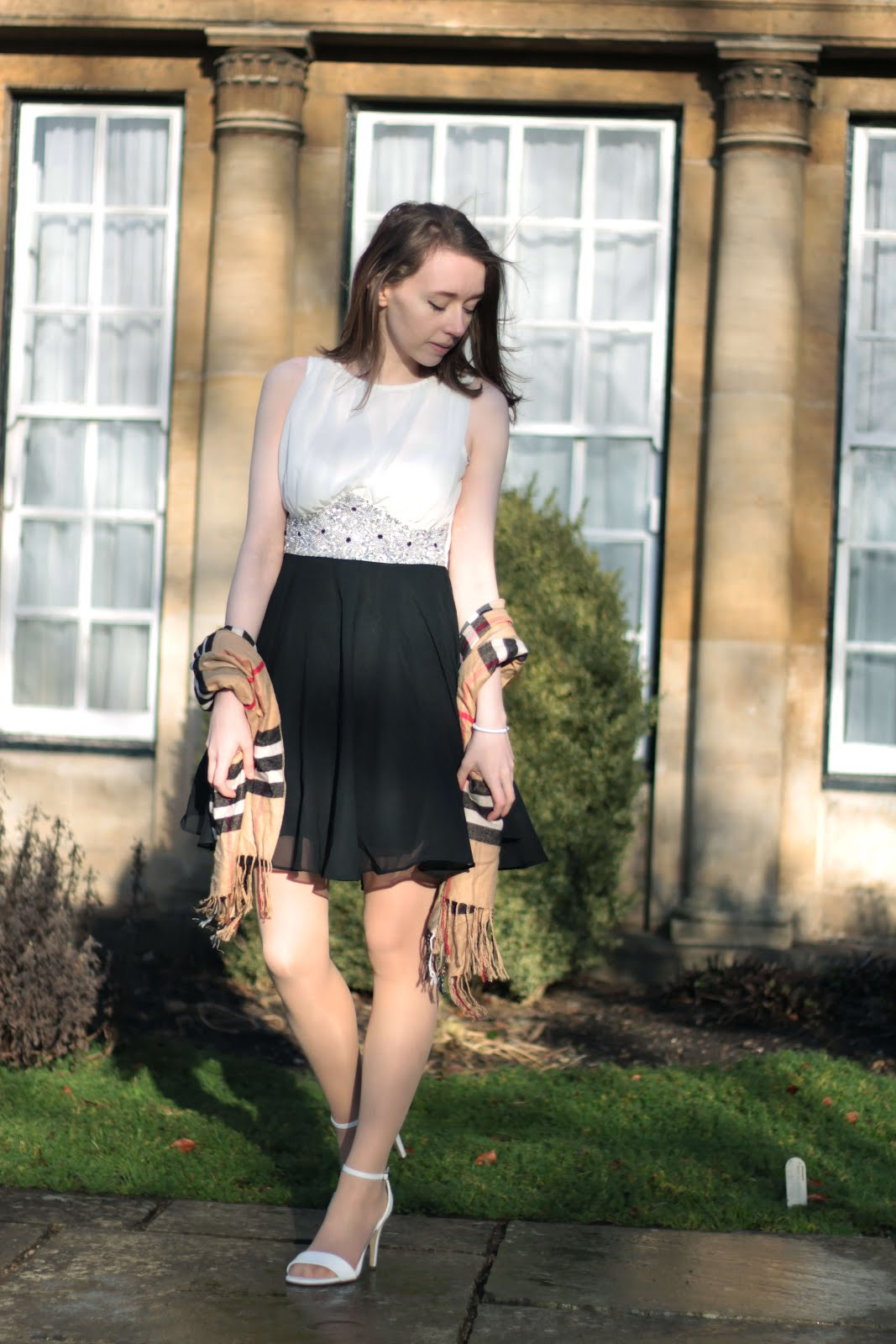 how to style party dress for winter