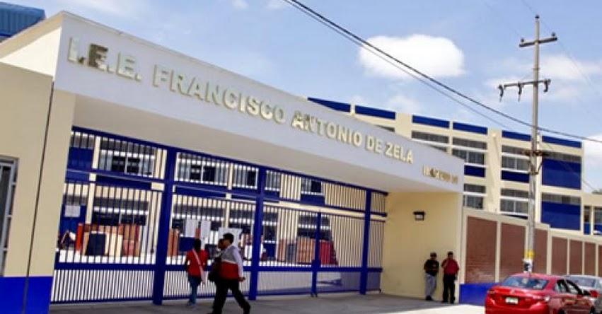 MINEDU entrega nuevo colegio emblemático Francisco Antonio de Zela en Tacna - www.minedu.gob.pe