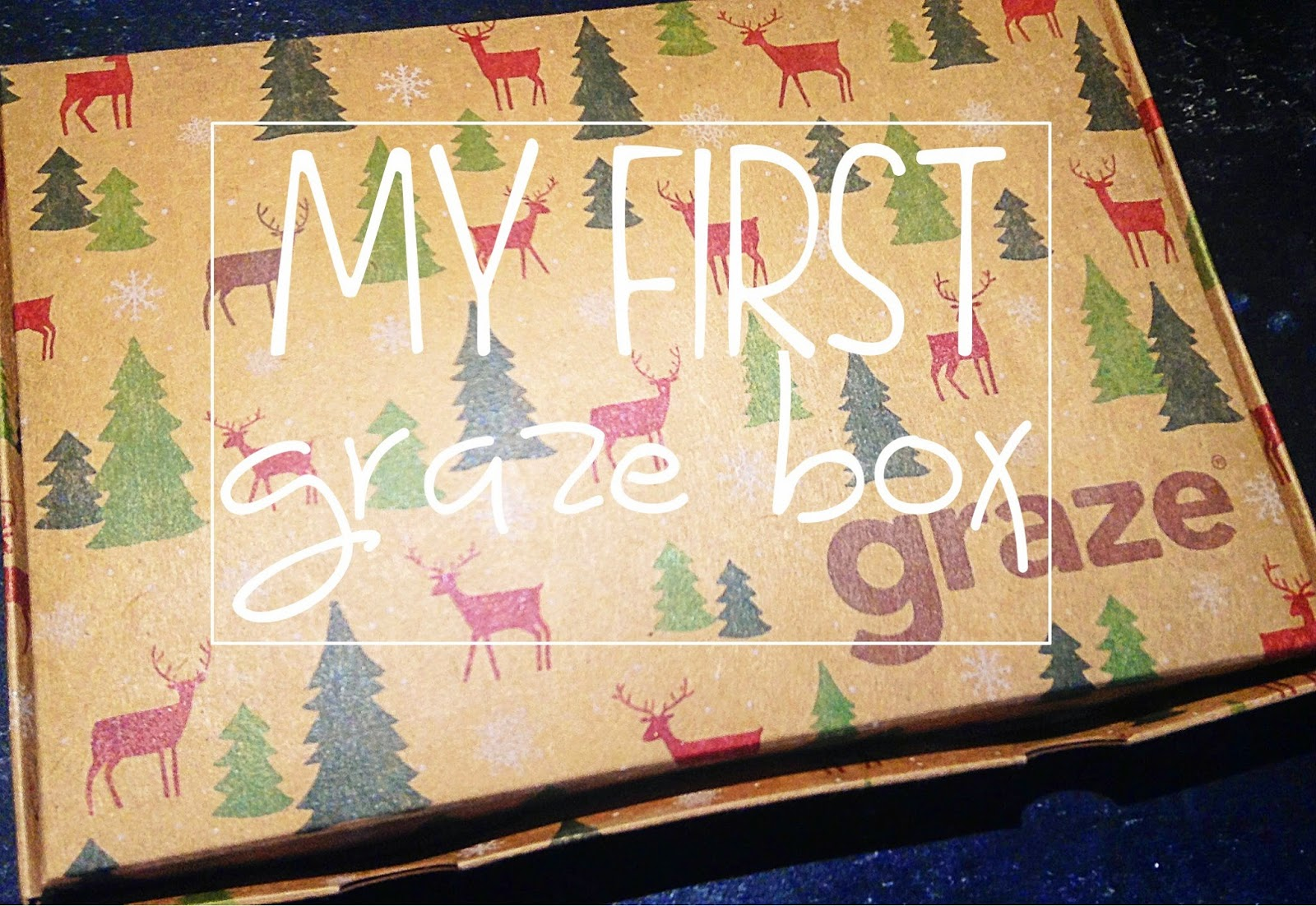 my first graze box review