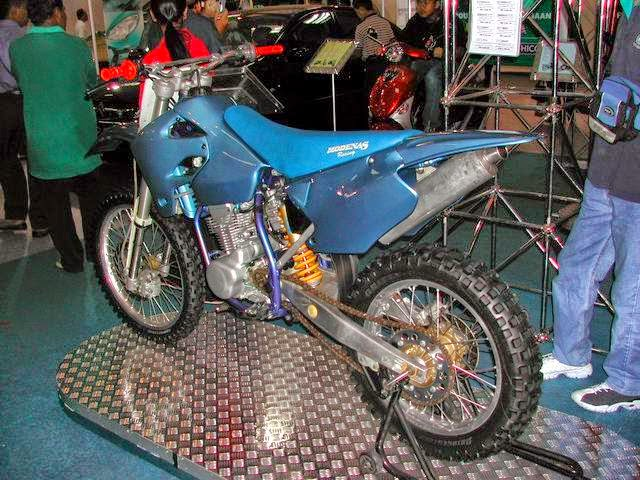 Modenas 220SX Dirt Bike Prototype