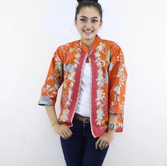 Model Baju Bolero Bahan Batik