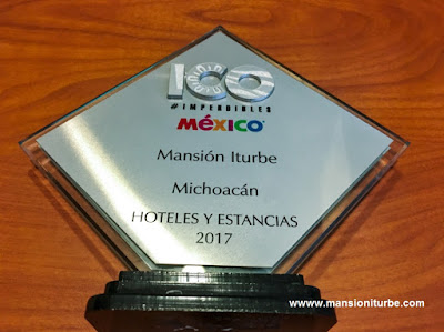 The 100 Must in Mexico 2017: Hotel Mansión Iturbe in Pátzcuaro