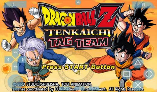 Download Dragon Ball Z - Tenkaichi Tag Team PSP ISO