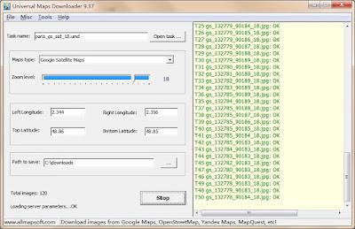 Screenshot Universal Maps Downloader 9.37 Full Version