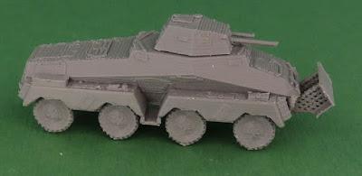 German Schwerer Panzerspähwagen Sd Kfz 231 8-Rad picture 3