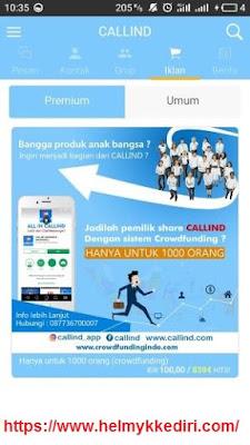 Callind aplikasi chatting pengganti whatsappk