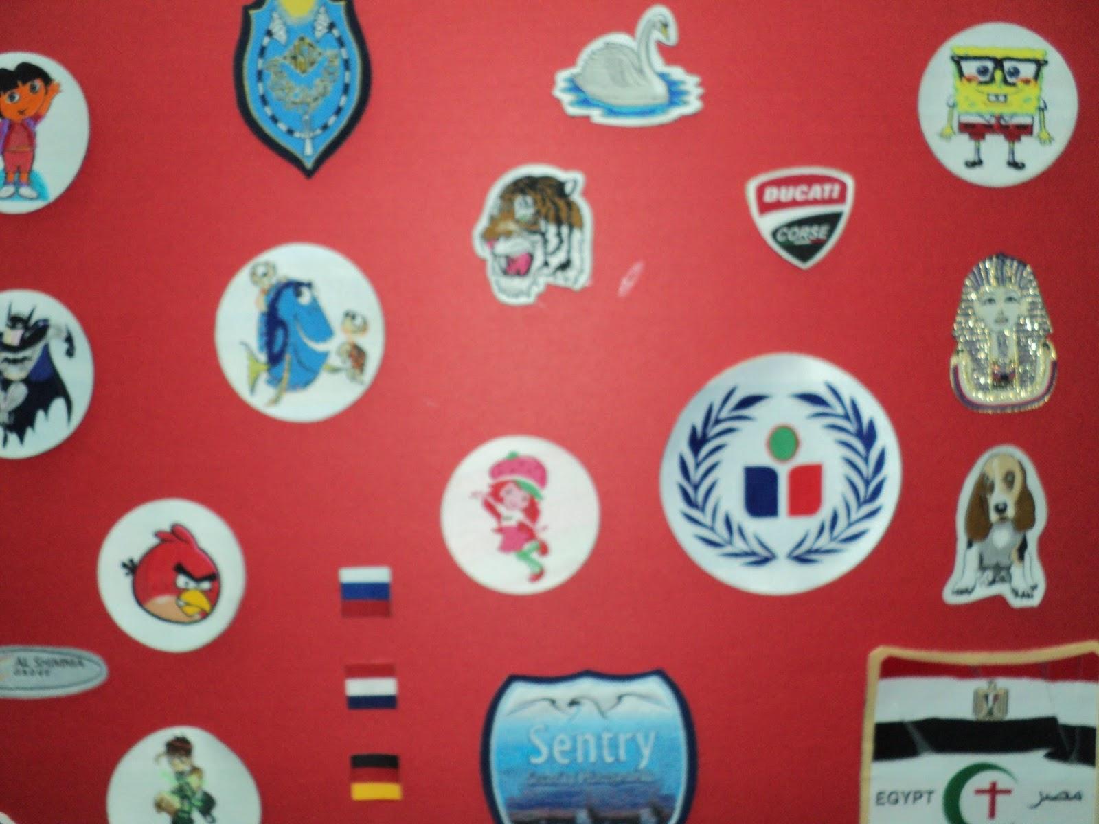 بعض منتجاتنا من البادجات النسيجيه التي توضع علي اليونيفورم