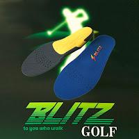 インソールBLITZ ゴルフ