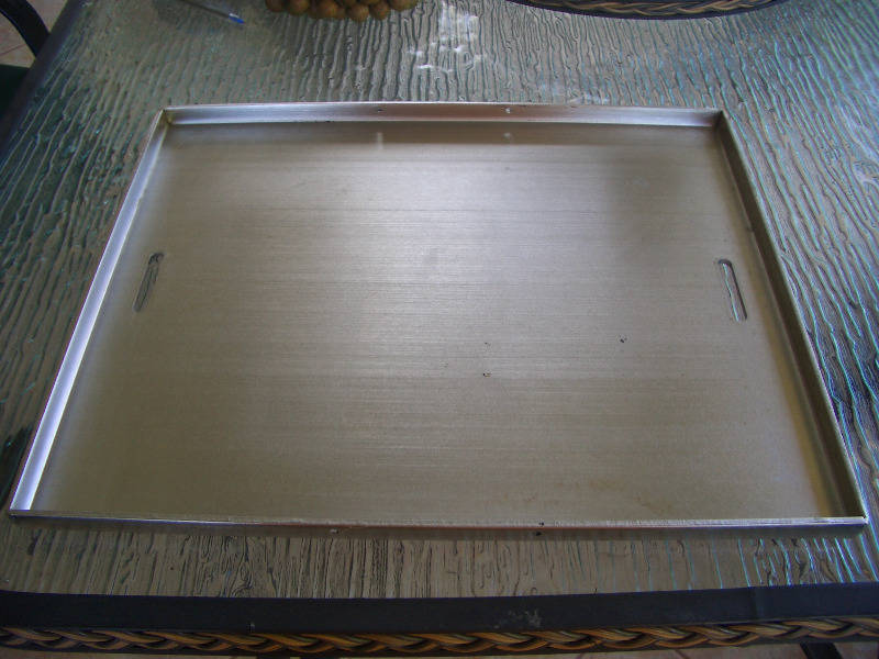 Stainless Steel Cooking Plate