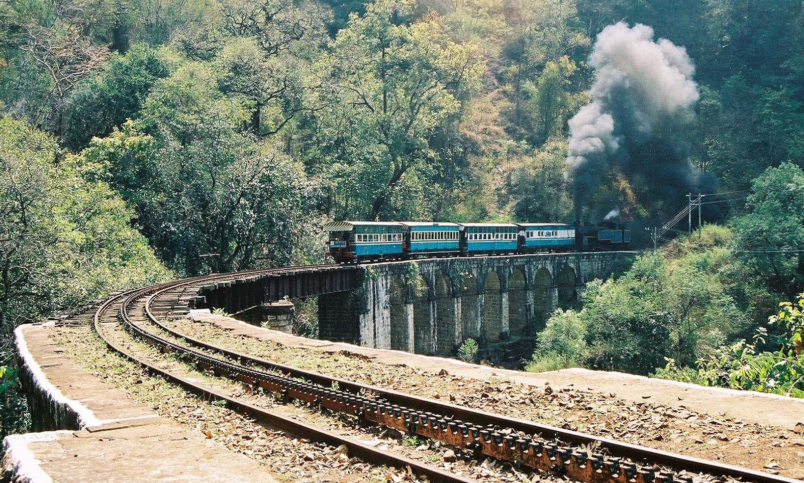 Image result for METTUPALAYAM TO UDHAGAMANDALAM – THE NILGIRI MOUNTAIN RAILWAY