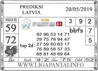 """Prediksi Togel """"LATVIA"""" PANTAI4D 20 MEI 2019"""