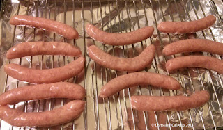 Good Little Sausages - uncooked