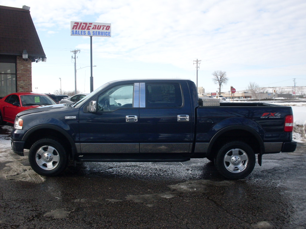 James 2004 Ford F150 Blue