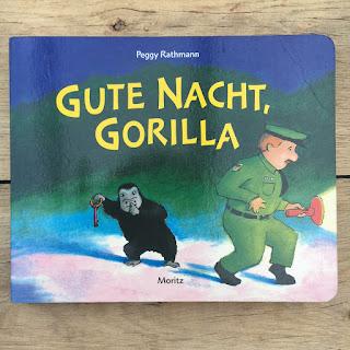 Kinderbuch Gute Nacht Gorilla vom Moritz Verlag