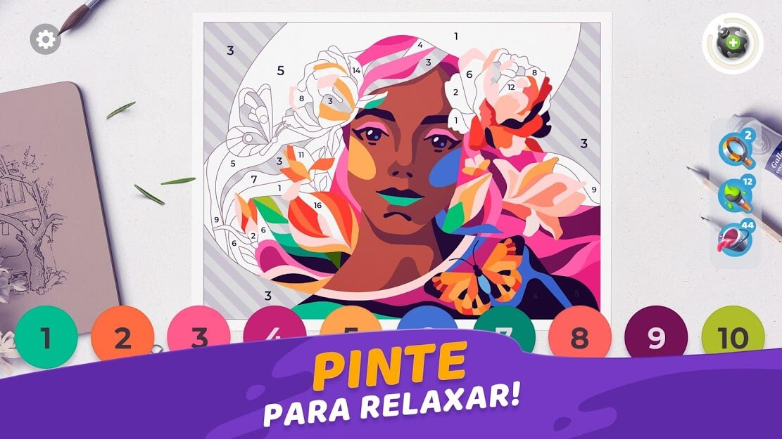 Gallery: Livro de Colorir e Decoração MOD ENERGIA GRÁTIS 0.238