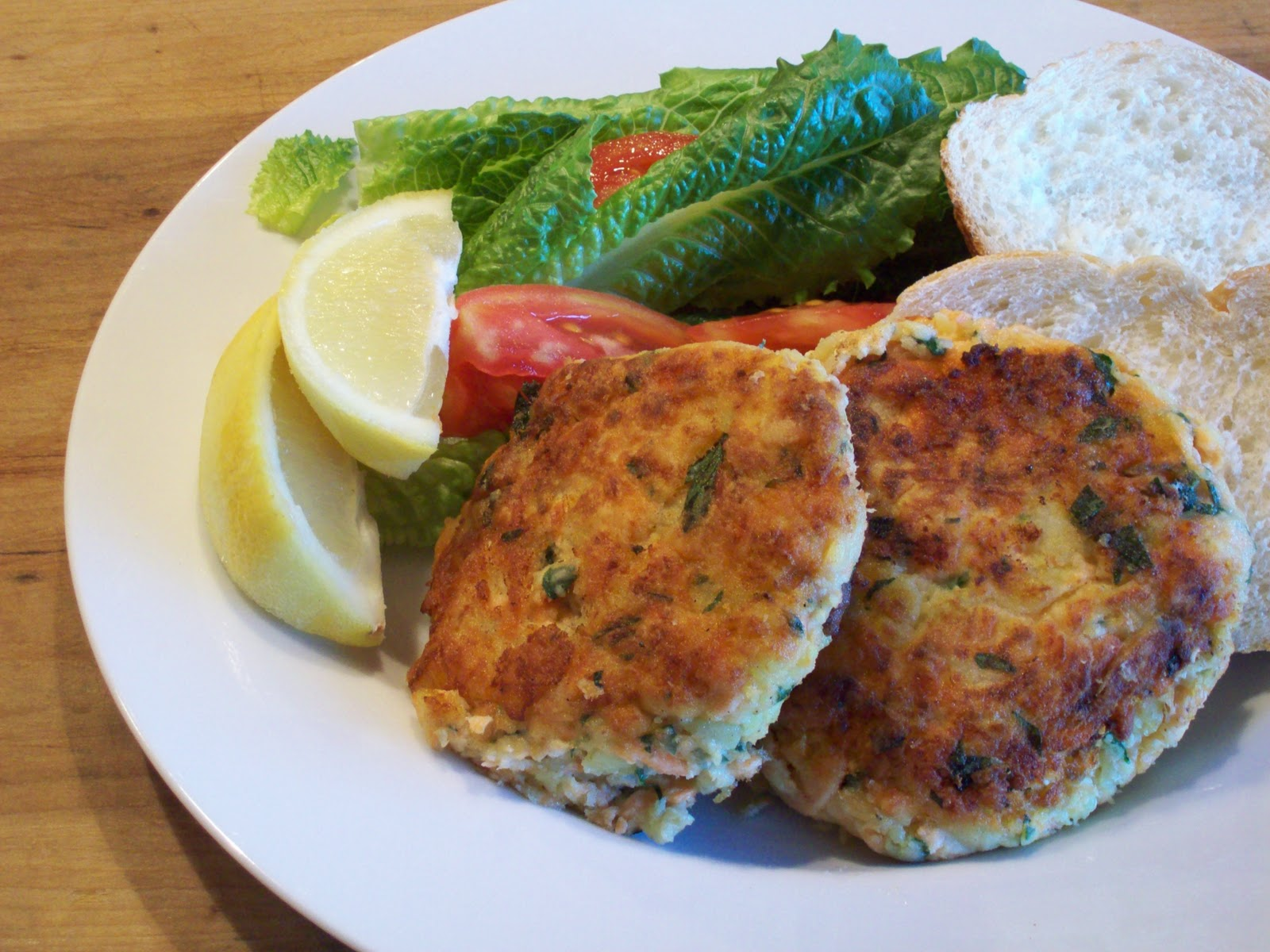 Salmon Fish Cake Recipe Jamie Oliver: Tracy's Living Cookbook: Salmon Fish Cakes