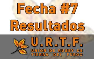 [URTF] Resultados: 1ra División - Fecha #7