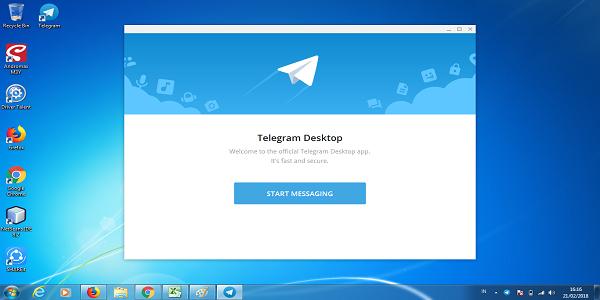 Aplikasi Telgram untuk Laptop atau Komputer