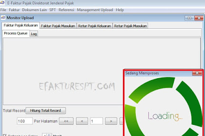 Uploader e-Faktur Tidak Jalan, Error ETAX-40001