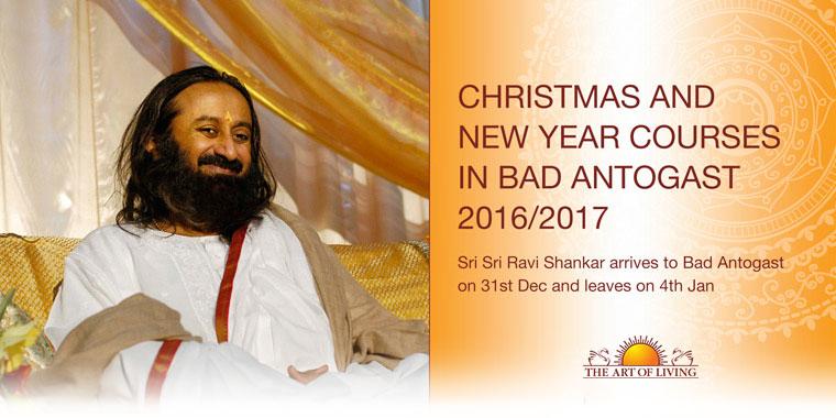 Gurudev Sri Sri Ravi Shankar in Bad Antogast