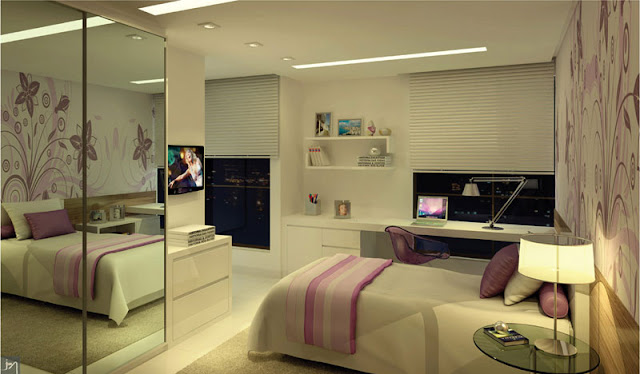 Decoracion dormitorios para senoritas adolescente quarto - Decoracion interiores dormitorios ...